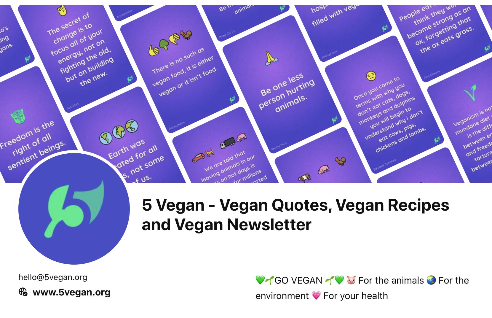 5 Vegan Pinterest