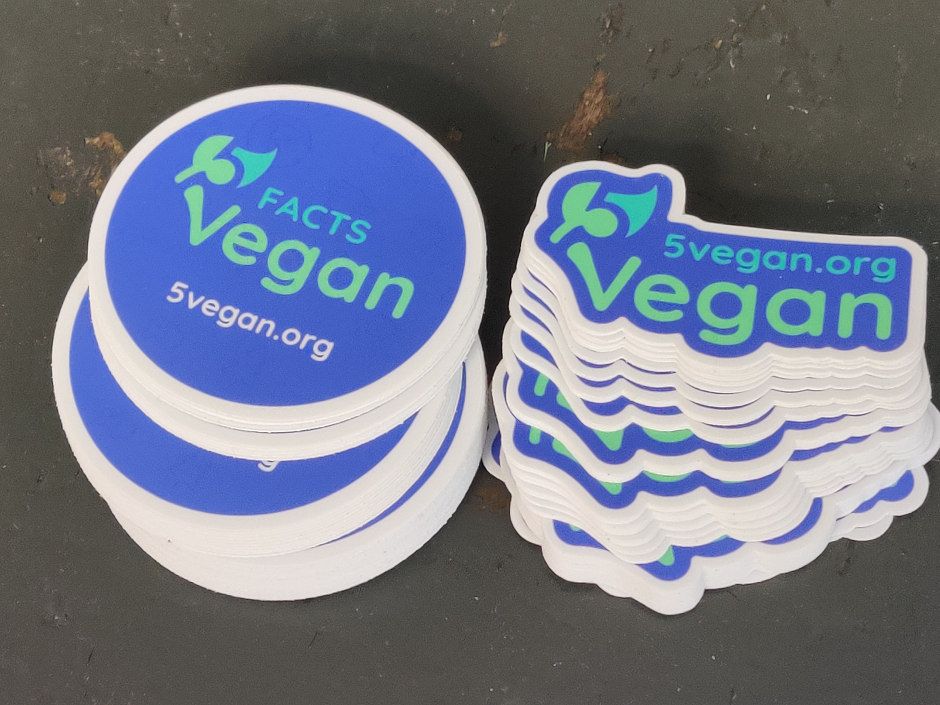 5 Vegan Stickers