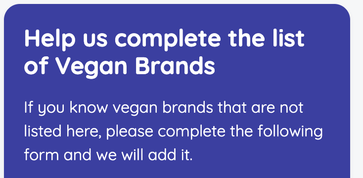 Complete Vegan Brands
