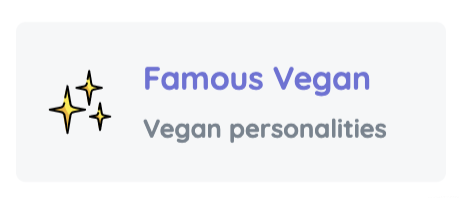 Vegan personalities